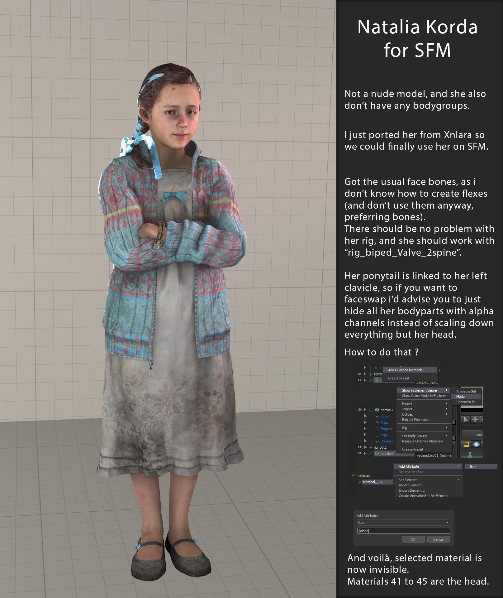 SFM Game Girls - Lolicon Artist Directory